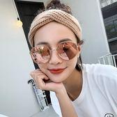亨格瑞新款網紅明星墨鏡女韓版潮圓框漸變色太陽眼鏡港范CY潮流站