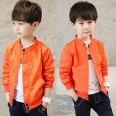 男童外套  2018秋裝新款春秋款兒童男生風衣韓版休閒夾克