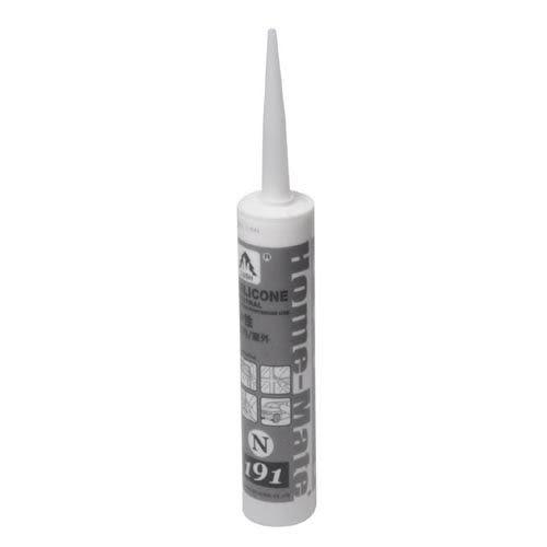 【九元生活百貨】中性填縫劑-白色 矽利康 填縫劑