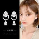 冷淡風耳環韓國個性簡約水滴耳釘女顯臉瘦氣質時尚