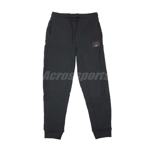 Nike 長褲 Jordan Flight Trousers 男款 束口褲 縮口 素面 運動褲 Air 飛人 喬丹 黑 【PUMP306】 BQ7967-010