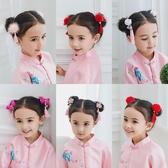 古風流蘇髪夾中國風可愛兒童髪飾