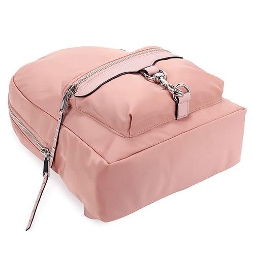 Rebecca Minkoff M.A.B. 亮絲尼龍釦環後背包(粉紅色)220047-3