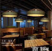 創意吊燈 美式鄉村麻繩吊燈loft復古工業風個性吊燈創意餐廳網咖啡廳酒吧燈 童趣屋
