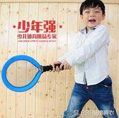 少年強兒童布藝網球拍玩具 幼兒園寶寶玩具球拍 初學兒童羽毛球拍igo   琉璃美衣