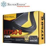 SilverStone 銀欣 Essential 系列 ET750-G 80PLUS 金牌 750W 電源供應器