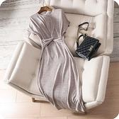 洋裝-短袖簡約純色性感修身連身裙3色73sz8[時尚巴黎]