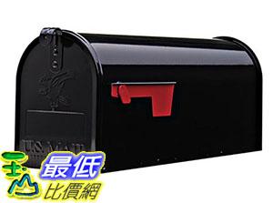 [美國直購] Gibraltar E1100B00 信箱 Elite Medium Capacity Galvanized Steel Black Post-Mount Mailbox