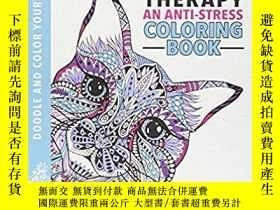 二手書博民逛書店Relaxing:ART罕見THERAPY(外國原版)Y587