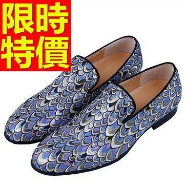 男皮鞋-大方造型懶人休閒男樂福鞋1色59p50[巴黎精品]