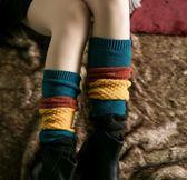 【TT】襪子 韓版襪套 冬季加厚保暖腿套 韓國堆堆襪子含羊毛美腿靴套