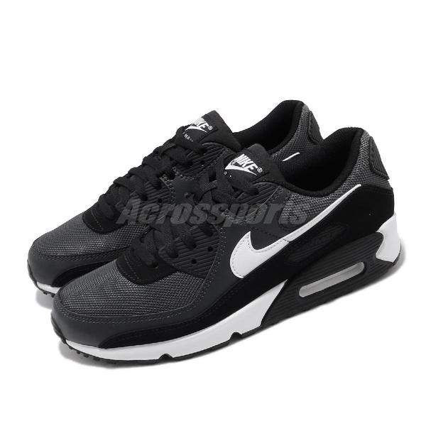 Nike 休閒鞋 Wmns Air Max 90 灰 白 女鞋 麂皮設計 氣墊 運動鞋 【PUMP306】 CN8490-002