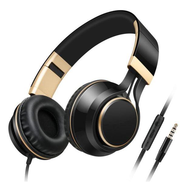 耳機頭戴式 音樂手機耳麥重低音單孔筆記本電腦用