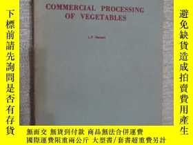 二手書博民逛書店Commercial罕見processing of vegeta