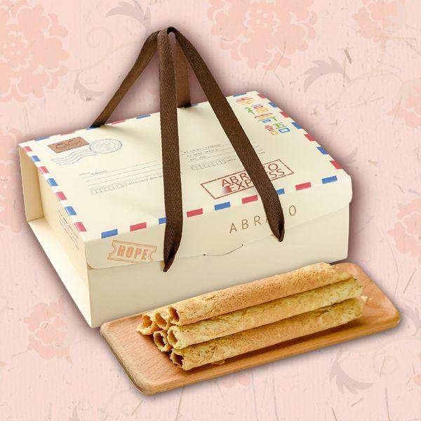 【愛不囉嗦庇護工場】幸福寄語蛋捲禮盒