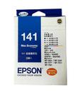 福利品 T141650 EPSON 原廠 (No.141) 四色墨水量販包
