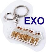 EXO 真人版壓克力鎖圈 鑰匙圈E871-1【玩之內】韓國 邊伯賢 燦烈 CHEN KAI