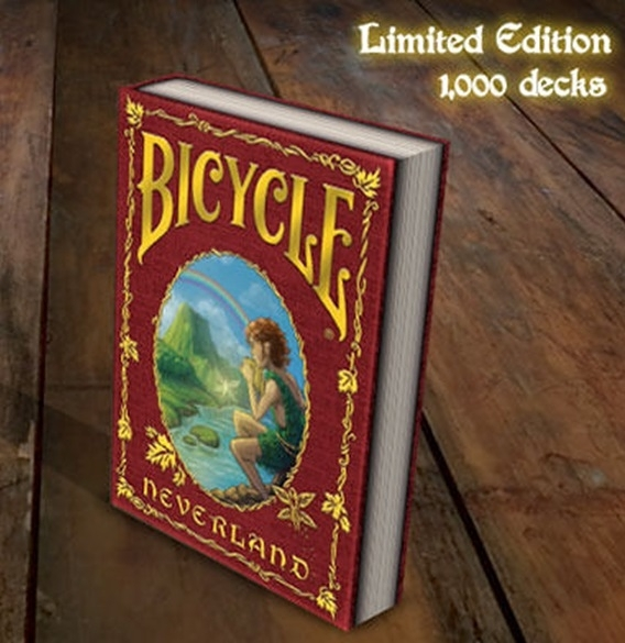 【USPCC 撲克】Bicycle neverland limited Playing Cards 紅色