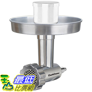 [美國直購] Chef s Choice 796 攪拌機配件 Premium Metal Food Grinder Attachment Designed for KitchenAid Stand Mixers