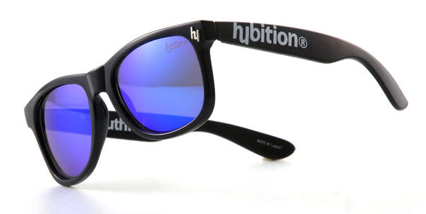 韓國 Hybition 太陽眼鏡 Truthful Toy Glossy Black/Blue Revo Lens 黑鏡框/藍鏡面