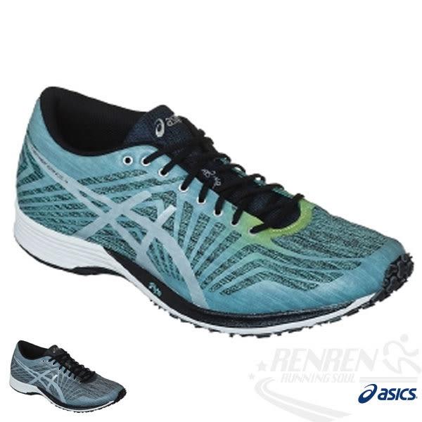 ASICS亞瑟士 虎走路跑鞋TARTHER KAINOS 4  (藍*黑) 超輕量透氣