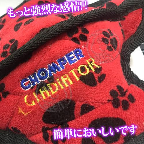【培菓平價寵物網】CHOMPER》中大型寵物互動狗玩具多款造型不選色L號/個