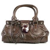 茱麗葉精品【下殺低價】Chloe  8ES0248E790 Paddington bag 經典質感真皮鎖頭包.咖色