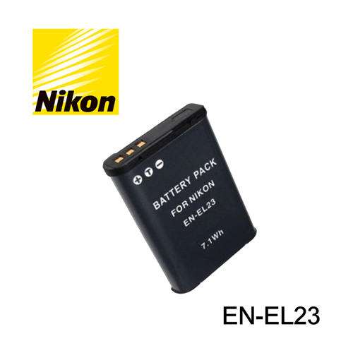郵寄免運費$230 3C LiFe NIKON 尼康 EN-EL23 電池 ENEL23 鋰電池 P600 P610 P900 B700 適用