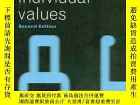二手書博民逛書店Social罕見Choice And Individual Values, Second EditionY36