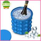 冰桶 irlde ice genie冰杯 Saving Ice Cube Maker制塊冰桶 食用級矽膠 家用 創意保溫 美樂蒂