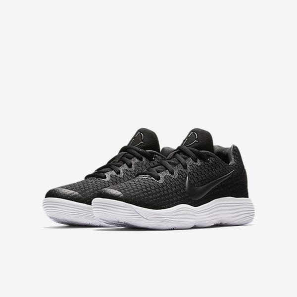 *Nike Hyperdunk 2017 Low GS 黑 白 低筒 REACT 中底 籃球鞋 女 大童 918362-001