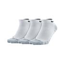 Nike U DRY LTWT NS 3PR 白灰 三雙入 運動 腳踝襪 短襪 SX6940-100