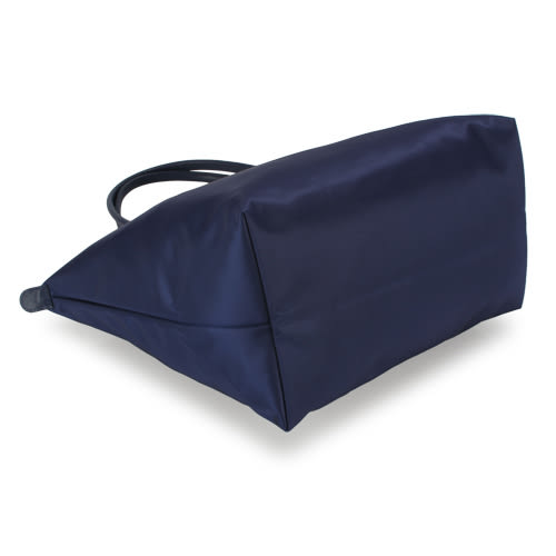 LONGCHAMP新非摺疊 Le Pliage Néo長帶L深藍色 肩背 水餃包(大款)