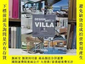 二手書博民逛書店Design罕見Art of Villa II 豪華別墅設計Y2