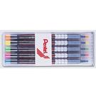 ↘↘促銷↘↘ Pentel飛龍S512-5螢光筆3.5mm(五色裝)/套