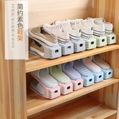 收納鞋架雙層鞋托寢室省空間一體式家用宿舍神器置物門口鞋櫃柜鞋子 超值價