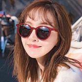 現貨-吳亦凡阿沁張大奕同款白色復古小框墨鏡女韓版潮男圓臉太陽眼鏡 復古小圓框 白色 太陽眼