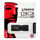 [哈GAME族]免運費 可刷卡 Kingston 金士頓 DataTraveler DT100G3 128GB 128G 隨身碟 五年保固