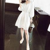 大碼女裝胖mm減齡最愛顯瘦遮肚蕾絲裙新款夏季200斤藏肉連衣裙 LI1854『寶貝兒童裝』
