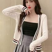 秋冬季新款學院風減齡毛衣上衣顯瘦百褶裙洋氣時尚兩件套裝女裝潮