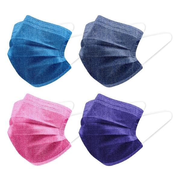 【3期零利率】預購 RM-A121 一次性防護丹寧牛仔口罩 10入/包 3層過濾 熔噴布 高效隔離汙染 (非醫療)