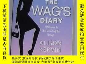 二手書博民逛書店英文原版罕見The Wag s Diary by Alison
