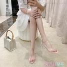 中跟涼鞋 2020新款仙女風時裝涼鞋女鞋...