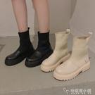 ins網紅瘦瘦靴馬丁靴女新款英倫風短靴春秋單靴夏透氣馬丁鞋 安妮塔小铺