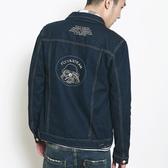 牛仔外套-翻領時尚經典歐美休閒男丹寧夾克73pc33【巴黎精品】