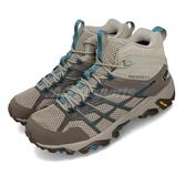 Merrell 戶外鞋 Moab FST 2 Mid GTX 咖啡 藍 女鞋 運動鞋 Gore-Tex 【PUMP306】 ML65400