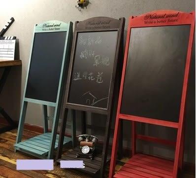[協貿國際]   告示黑板咖啡廳告示畫板架  (1入)