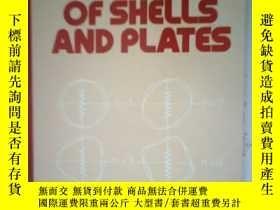 二手書博民逛書店Vibrations罕見of Sbells and Plates