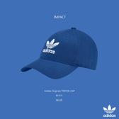 IMPACT Adidas Originals Trefoil Cap 寶藍 老帽 棒球帽 三葉草 男女 BK7271