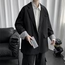 小西裝外套男2020新款潮流韓版痞帥寬鬆男裝衣服港風潮牌休閒西服 黛尼時尚精品